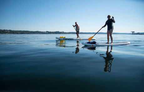 Puget Sound: Paddle Boarding